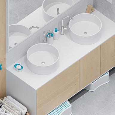 Białe umywalki nablatowe - nowoczesność i wygoda