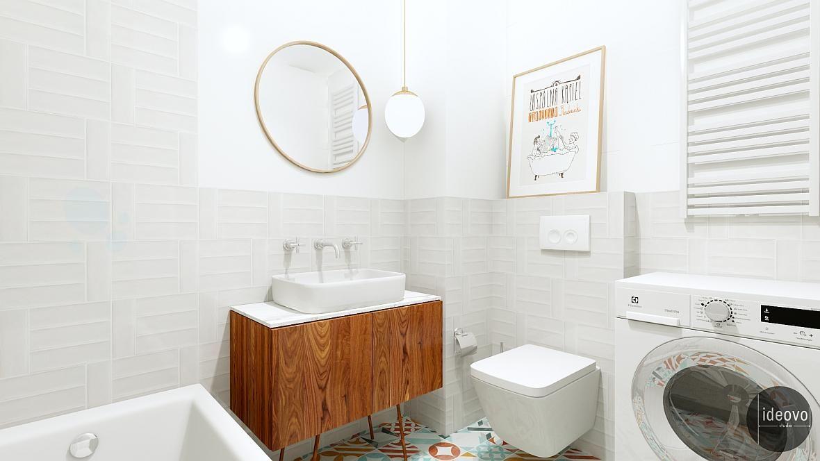 łazienka Z Płytkami Patchwork Kuchnie I łazienki