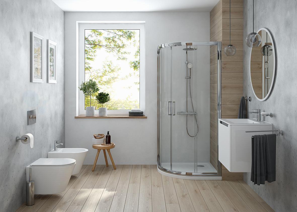 Oltens - skandynawska łazienka w minimalistycznym wydaniu