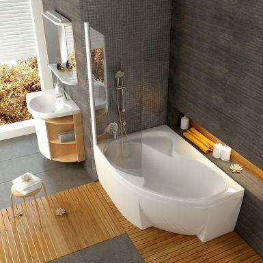 Ravak Rosa - łazienka z wanną narożnikową