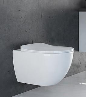 Zestaw Deante Peonia Zero New 6w1 stelaż podtynkowy z miską WC wiszącą, deską wolnoopadającą Slim i przyciskiem chrom CDES6ZPW