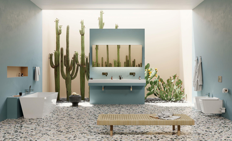 Przestronna łazienka z wanną wolnostojącą