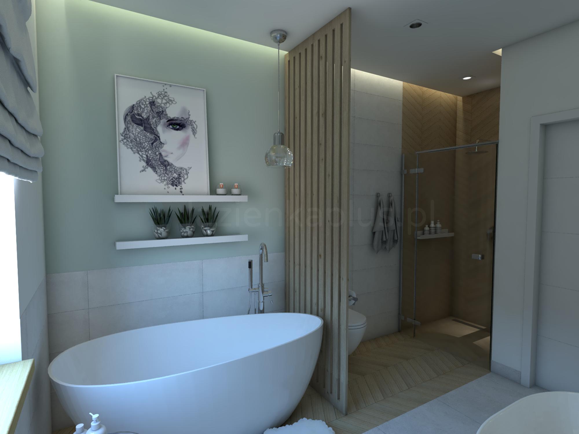 Łazienka w klimacie mini spa