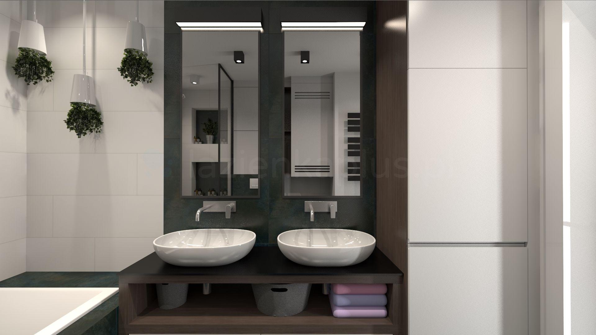 Komfortowa łazienka w bloku
