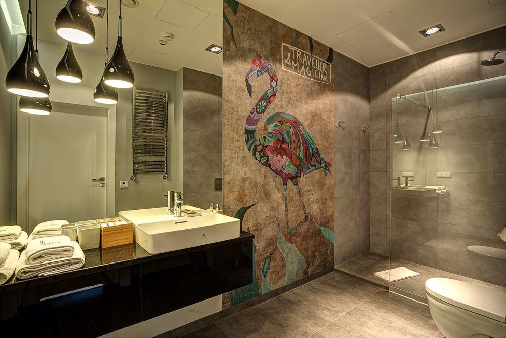 inspiracja: Wprowadź wzór do łazienki - motyw zwierzęcy