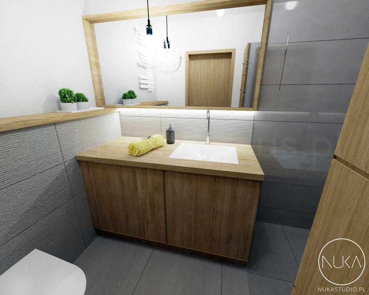 Łazienka w drewnie - postaw na skandynawską aranżację