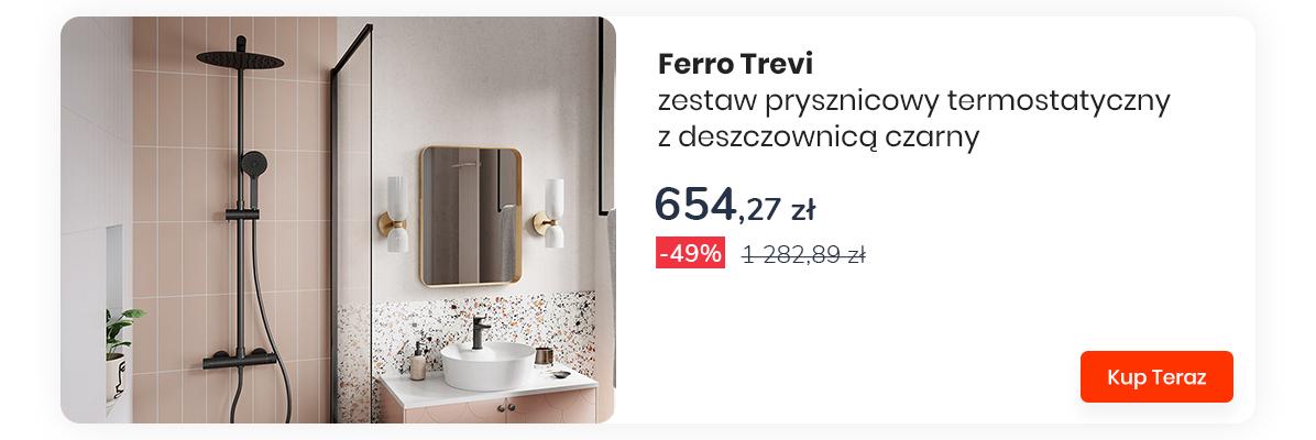 Nowoczesny komfort - Ferro Trevi Black