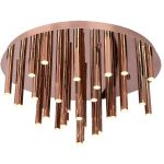 MaxLight Organic Copper lampa podsufitowa 33x1W miedziana C0093
