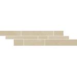 Paradyż Rockstone listwa Beige Listwa Mix Paski 14,3X71cm