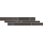 Paradyż Rockstone listwa podłogowa Grafit Mix Paski 14,3X71cm
