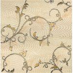 Tubądzin Traviata dekor ścienny 61,8x60,8 cm beżowy