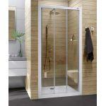 Sanplast Basic DTr/BASIC drzwi prysznicowe 90 cm szkło przezroczyste 600-450-0930-01-400