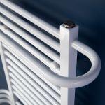 Termal Ovalis grzejnik łazienkowy 40-60x100 cm biały GŁ-DE600x1000RAL9016