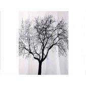 Bisk zasłonka prysznicowa 180x200 cm Tree 04440