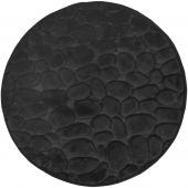 Duschy Bellarina dywanik łazienkowy 60 cm okrągły czarny 767-20