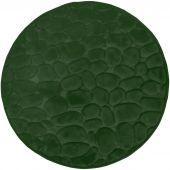 Duschy Bellarina dywanik łazienkowy 60 cm okrągły ciemnozielony 767-59
