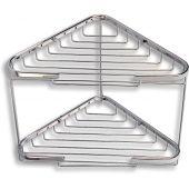 Ferro Metalia koszyk łazienkowy narożny podwójny chrom 6070.0