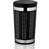 Kela Sevilla kosz na pranie metal/tworzywo czarne KE-21818