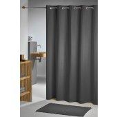 Sealskin Coloris zasłona prysznicowa tekstylna 180x200 cm szara 232211314