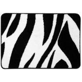 Sealskin Safari dywanik łazienkowy 60x90 cm czarno/biały 293553619