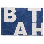 Sealskin Littera dywanik łazienkowy 60x90 cm blau 294013621