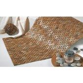 Sealskin Woodblock dywanik łazienkowy 90x52 cm teak 293324274