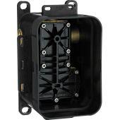 Deante Box element podtynkowy baterii z przełącznikiem czarny BXYX44T