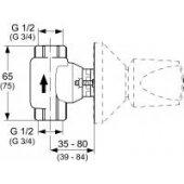 Ideal Standard Moments zawór podtynkowy A2359NU