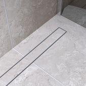 Bravat Ceramic Steel odpływ liniowy 70 cm stal matowa CERAMICSTEELDRAIN70