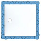 Geberit Setaplano panel do natrysków bezbrodzikowych 90x90 cm bialy 154.270.11.1