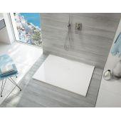Sanplast Open Mineral brodzik prostokątny 110x90 cm biały 645-430-0540-01-000