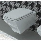 Art Ceram Jazz zestaw miska WC wisząca z deską wolnoopadającą biel (JZV00101;00, JZA00601;71)