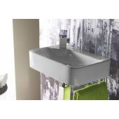 Bathco Spain Javea umywalka 44x30 cm ścienna biała 4903