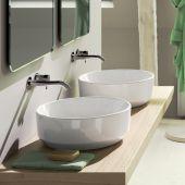 Catalano Green umywalka 48 cm nablatowa okrągła biała 148AGR00