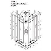 Koło Ultra zestaw montażowy A200120