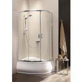 Radaway Premium Plus E 1700 kabina prysznicowa 120x90 cm asymetryczna półokrągła 30483-01-01N