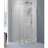 Radaway Arta KDS I drzwi prysznicowe 90 cm ze ścianką stałą prawe 386520-03-01R/386100-03-01R