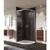 Hüppe Aura elegance drzwi suwane 90x90 cm 402402.092.322