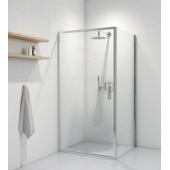 Oltens Fulla kabina prysznicowa 100x90 cm prostokątna drzwi ze ścianką 20204100