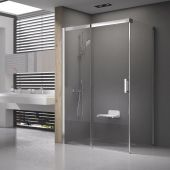 Ravak Matrix MSDPS-120/80 L kabina prysznicowa 120x80 cm prostokątna lewa satyna/transparent 0WLG4U00Z1