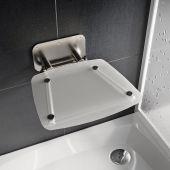 Ravak Ovo B II siedzisko prysznicowe przezroczyste B8F0000051