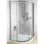 Ravak Pivot PSKK3-90 kabina prysznicowa półokrągła satyna + transparent 37677U00Z1
