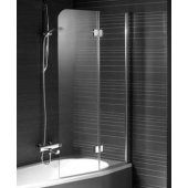 Riho Nautic N500  parawan nawannowy 120 cm szkło przezroczyste GGT0221204800