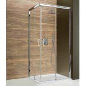 Sanplast Free Zone KN/FREEZONE kabina prysznicowa 80 cm kwadratowa szkło przezroczyste 600-271-3500-38-401