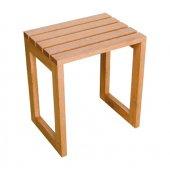 Sanplast taboret z drewna egzotycznego meranti 661-A0013-19