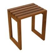 Sanplast taboret z drewna egzotycznego merbau 661-A0013-20