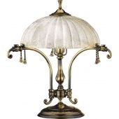 Amplex Granada lampa biurkowa 2x60W patyna połysk 245