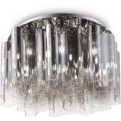 Ideal Lux Compo lampa podsufitowa 10x60W szkło dymione 172804