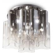 Ideal Lux Compo lampa podsufitowa 6x60W szkło dymione 172828