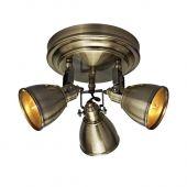 Markslöjd Fjällbacka lampa podsufitowa 3x40W antyczny 104050